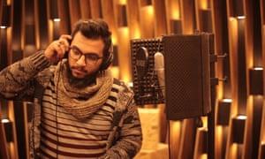 Rapper in Gaza - Khaled