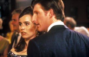Fitzgerald with Adrian Dunbar in the 1991 film Hear My Song.