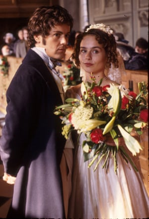 Fitzgerald and Rupert Graves in The Tenant of Wildfell Hall in 1996.