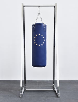 Please punch … Anger Management by Elmgreen & Dragset.