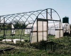 The shutdown Venetucci Farm.