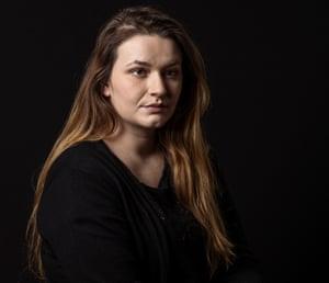Emma Martinovic (26) Mother of 2, Survivor of Utoya terror attack of far-right terrorist Anders Behring Breivik Oslo, Norway
