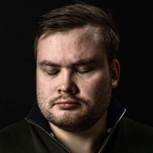 Tarjei Jensen Bech (27) Deputy County Mayor, Survivor of Utoya terror attack of far-right terrorist Anders Behring Breivik Oslo, Norway