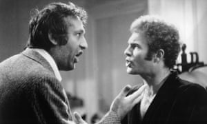 Carmine Caridi and James Caan In The Gambler