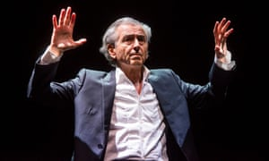 Bernard-Henri Lévy performs Last Exit Before Brexit.