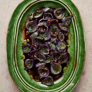 Yotam Ottolenghi's sweet-and-sour onion petals.
