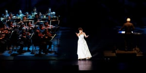 The hologram Maria Callas in concert.