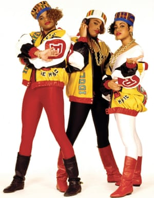 Salt-N-Pepa, from the cover shoot for Shake Your Thang in 1987.