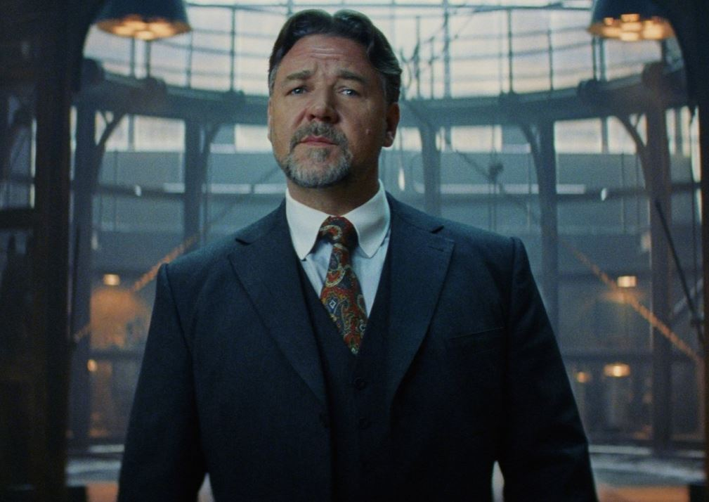 Upcoming Russell Crowe...