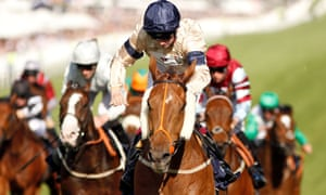 Oisin Murphy riding Watchable to victory on Derby day at Epsom.