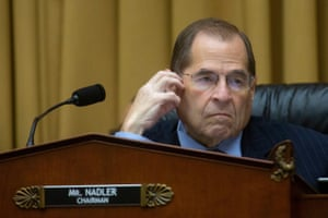 Representative Jerrold Nadler listens during a House Committee on the Judiciary markup.