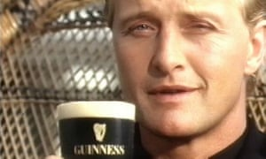 Rutger Hauer in an advertisement for Guinness.