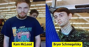 Kam McLeod, 19, and Bryer Schmegelsky, 18 are considered main suspects in two murders.