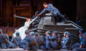 La Fille du régiment at the Royal Opera House.