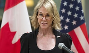 Kelly Knight Craft, ambassador to Canada, will now become US ambassador to the UN