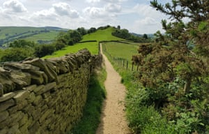 A rescued footpath in the Peak District.