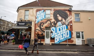 The summer street art festival in Southville and Bedminster.
