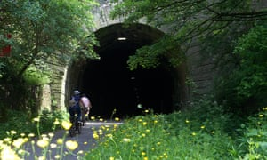 Cyclists on the Bristol to Bath cycle path