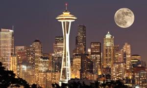 A Seattle cityscape