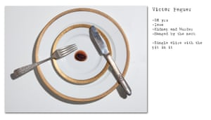 Heart of stone: the final meal requested by Victor Feguer, the last person to be executed in Iowa.