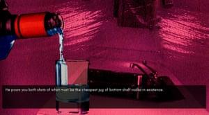 Screenshot from Angela Washko's The Game: The Game