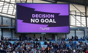 Manchester City fans have been given plenty of reasons to dislike VAR after they saw a winner chalked off against Spurs again last weekend.