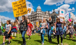 People take part in the Mothers Rise Up march in London in May