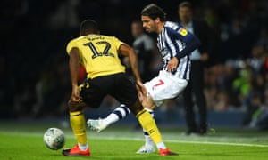 Krovinovic in Carabao Cup action against Millwall