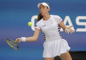 Johanna Konta eyes a return.