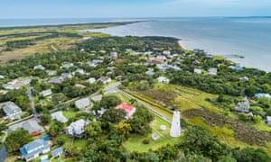 Here's part of the beautiful Ocracoke island before Hurricane Dorian hit