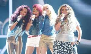 On The X Factor in 2011: (from left) Jade Thirlwall, Leigh-Anne Pinnock, Perrie Edwards and Jesy Nelson.
